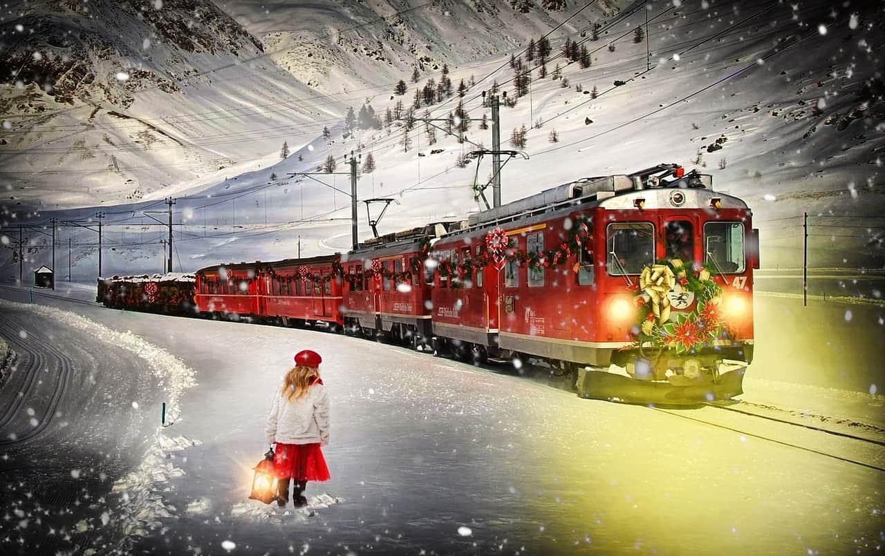 all you need to know about the polar express train ride at palestine  texas
