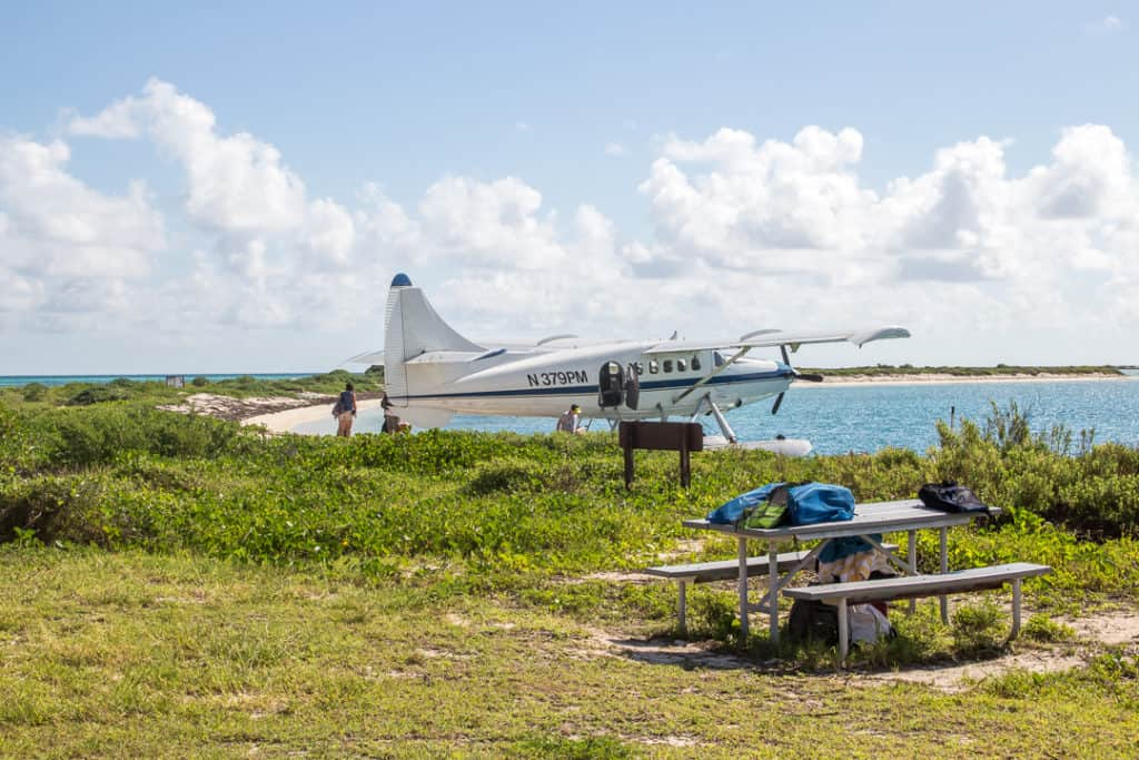Campgrounds at Dry Tortugas National Park in Florida