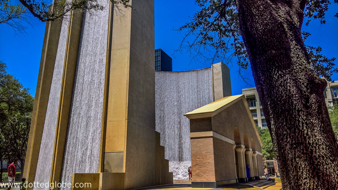 Dotted Globe & Houston\u0027s Urban Architectural Gem: Gerald D. Hines Waterwall Park ...