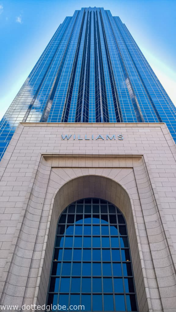 Gerald D. Hines Waterwall Park picture of Williams Tower