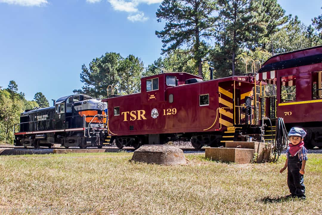 Journey back in time at the Texas State Railroad