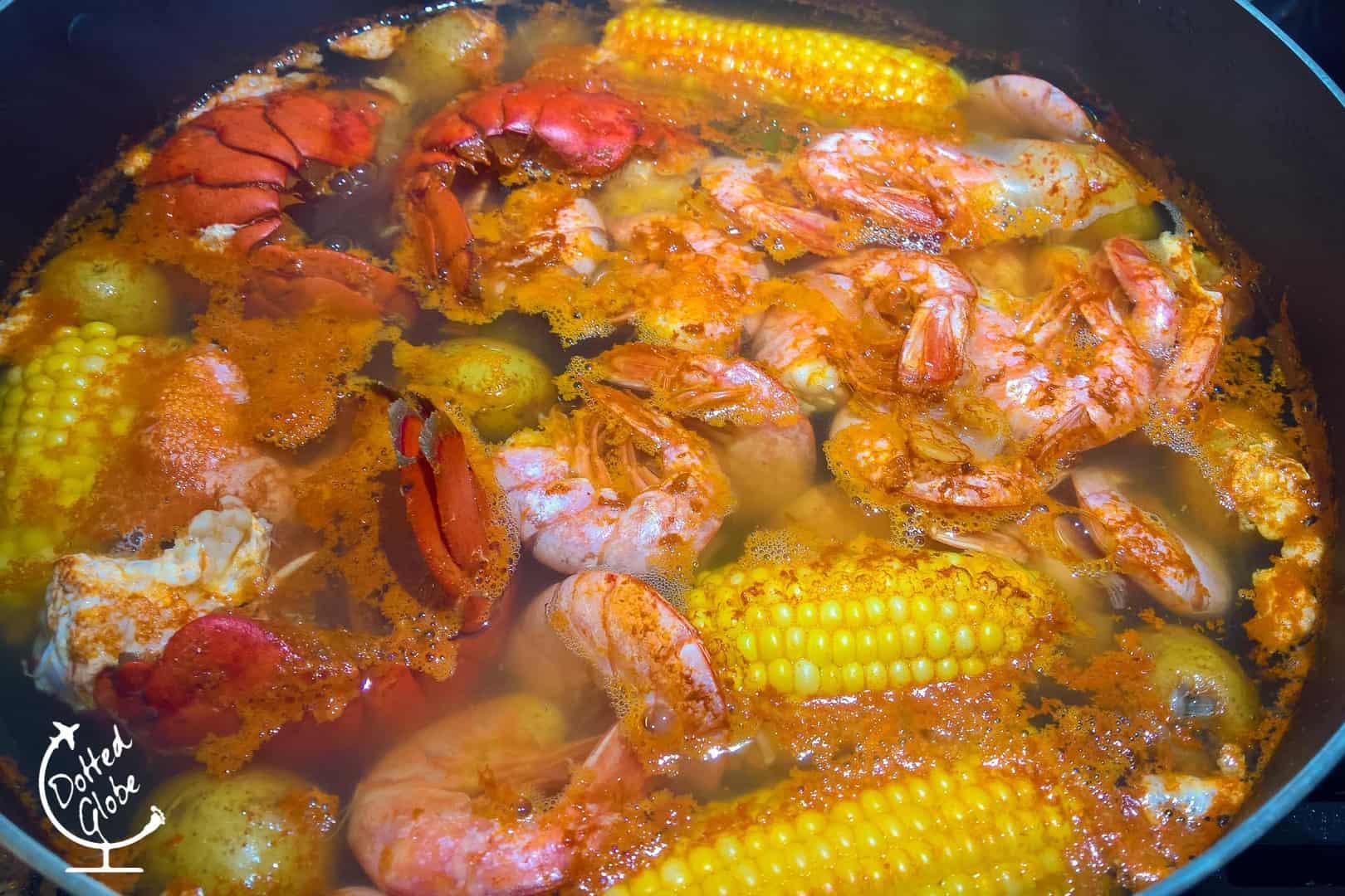 cajun crawfish boil new orleans louisiana
