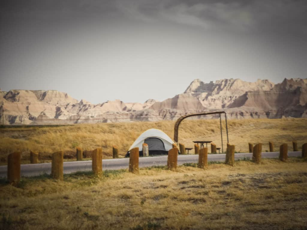 Camping in Badlands National Park is an amazing experience