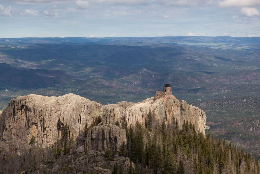 Black Elk Peak in Custer State Park, South Dakota