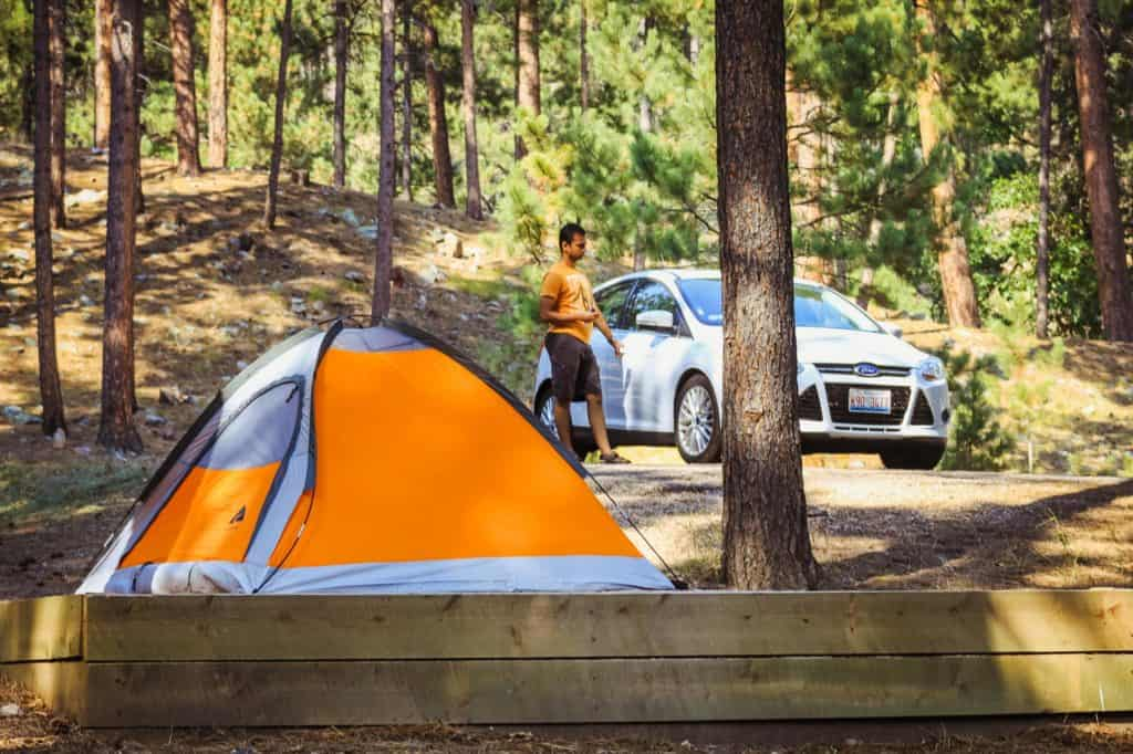 Custer State Park camping