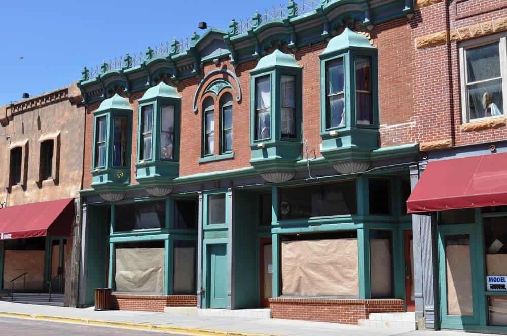 Main Street of Historic Deadwood, South Dakota