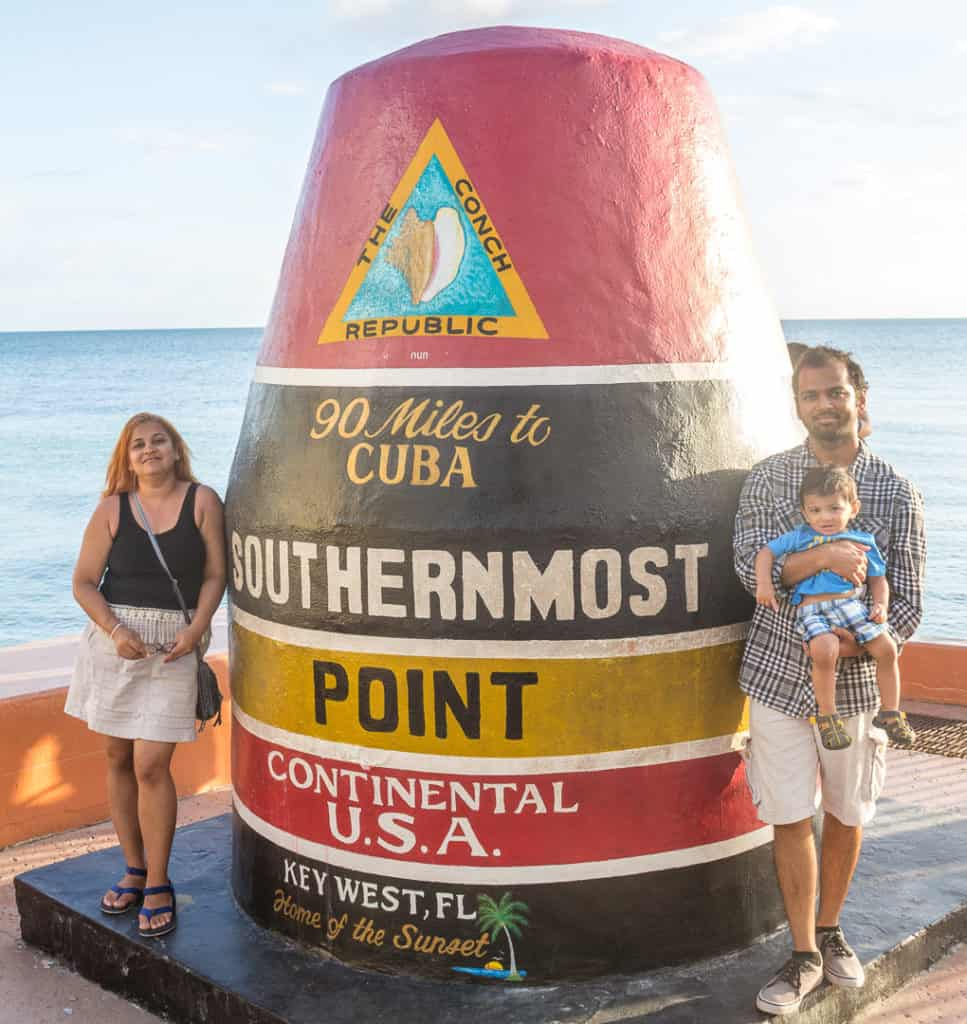 Southernmost Point Buoy Key West Florida