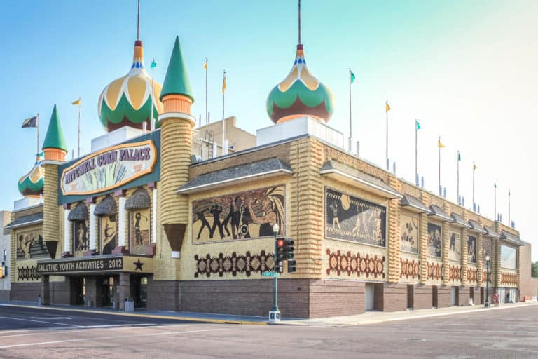 Visitor's Guide to the World's Only Corn Palace at Mitchell, South Dakota