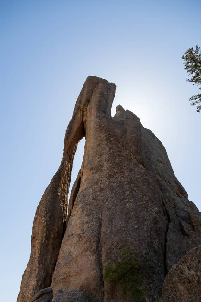 Needles formation on Needles Highway in South Dakota