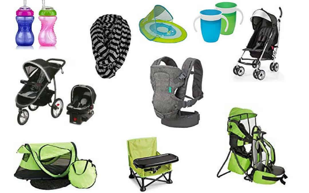 Our favorite (essential) Baby and Toddler Travel Gear