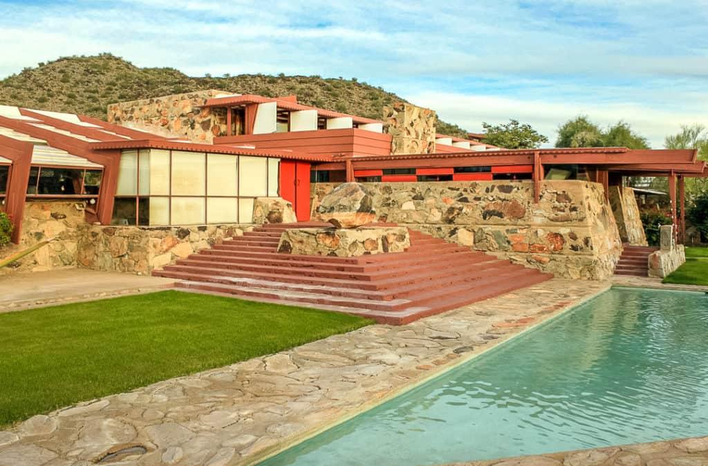 Frank Lloyd Wrights Taliesin West in Scottsdale, Arizona