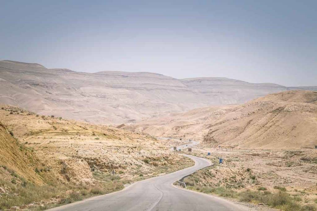This is a photo of the Kings Highway in Jordan. Taken by Ketki R S for Dotted Globe.