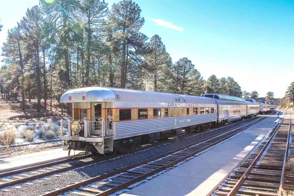 Grand Canyon National Park Train to reach the national park