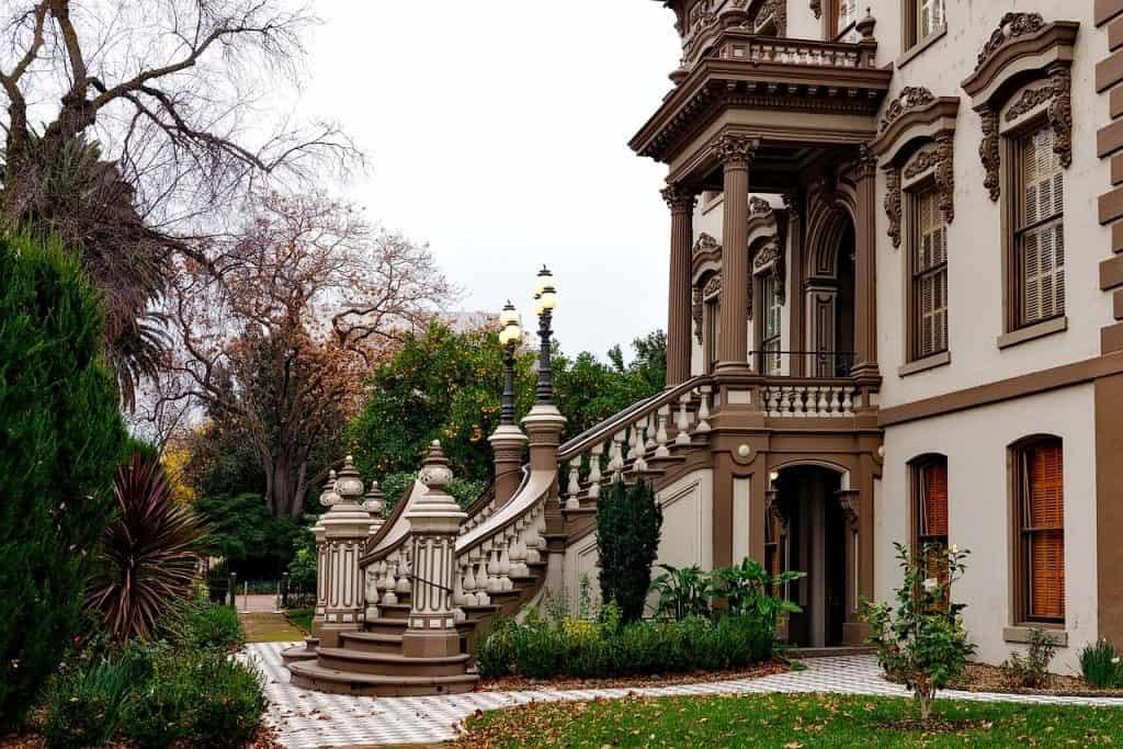 Leland Stanford Mansion Sacramento California