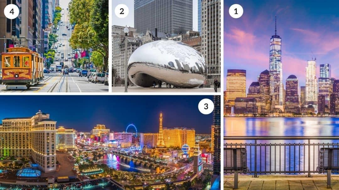 22 Best City Breaks in the USA