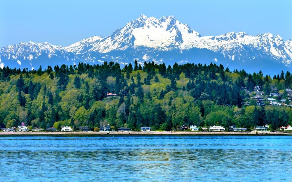 Bainbridge Island Puget Sound, Washington