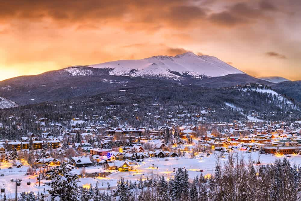 Breckinridge Skyline Colorado