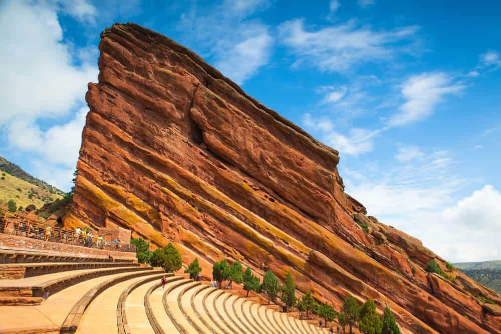 Red Rocks Amphitheatre near Denver, Colorado