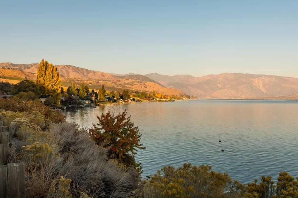 Lake Chelan National Recreation Area in Cascades National Park, Washington