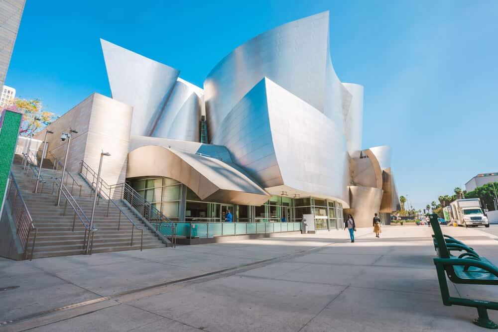 Walt Disney Concert Hall in Downtown Disney LA