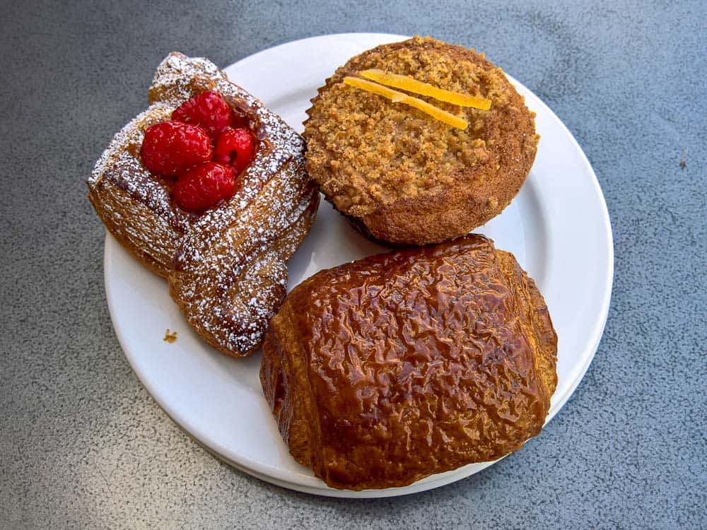 Baked treats at Bakery Lorraine in Pearl District