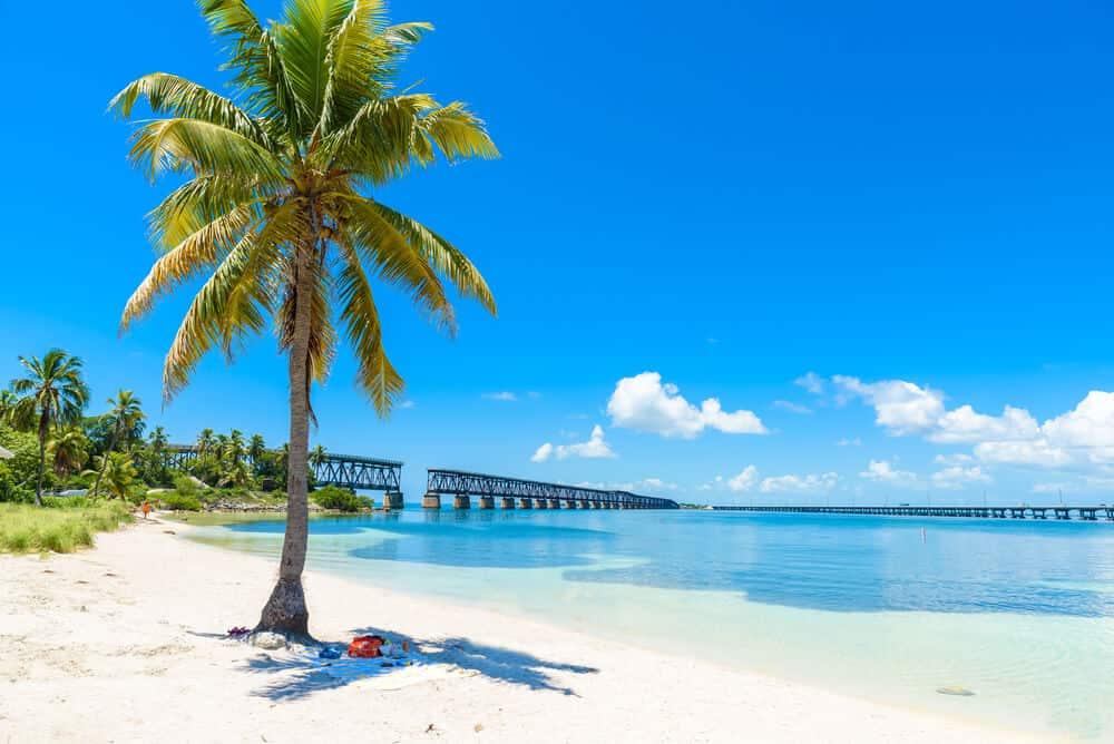 Calusa Beach in Bahia Honda State Park in Florida Keys