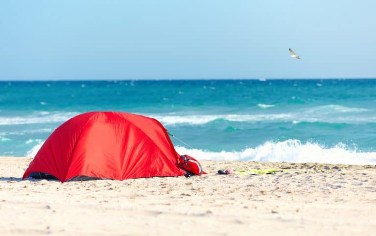 38 Best Beaches for Camping in the USA