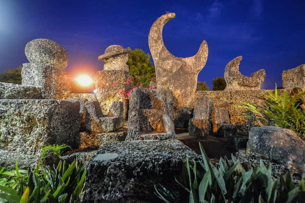 Coral Castle near Miami Florida