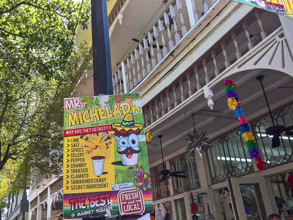 Drink the micheladas at Historic Market Square in San Antonio