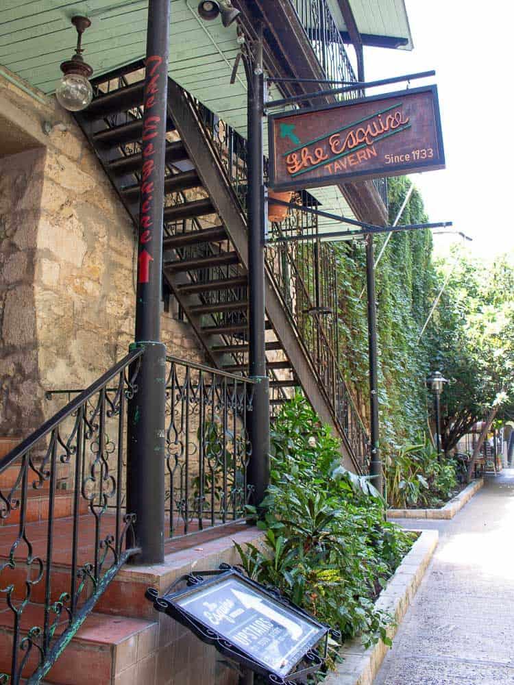 Esquire Tavern, San Antonio Riverwalk