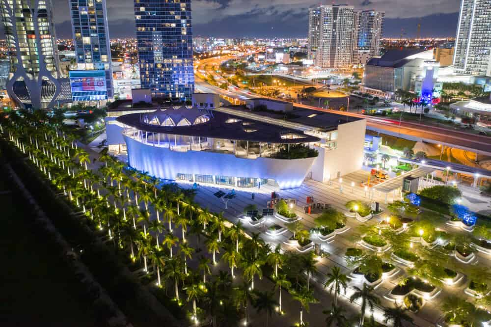 Frost Museum of Science Miami Downtown Florida