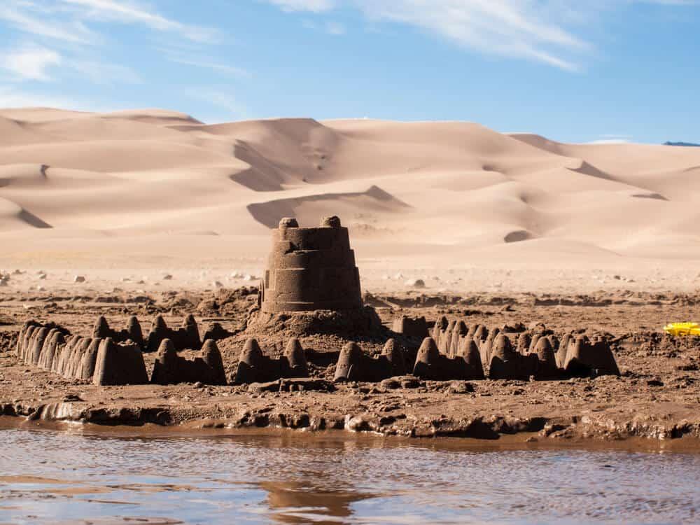 Great Sand Dunes National Park near Alamosa in Colorado