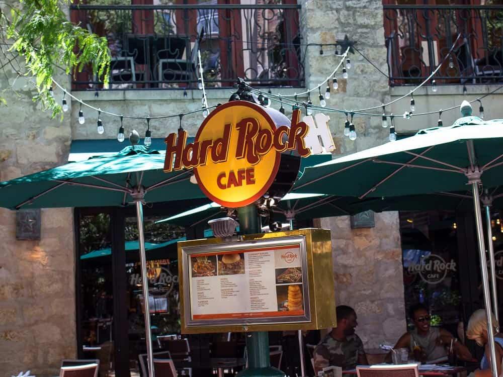 Hard Rock Cafe, San Antonio Riverwalk