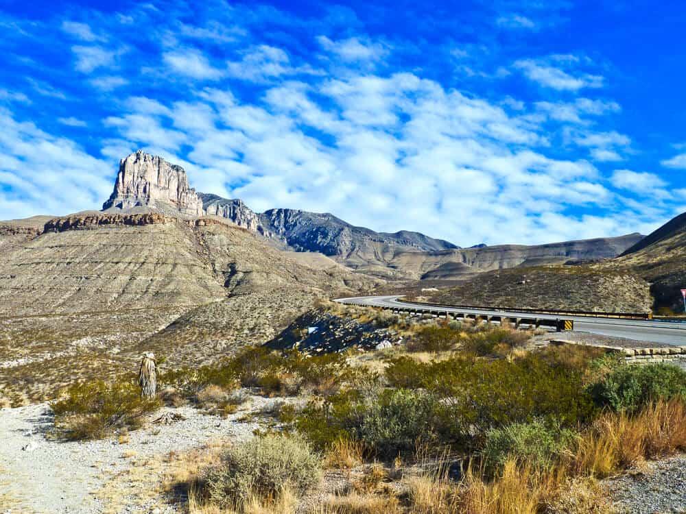 Landscape near Capulin Volcano National Monument, New Mexico