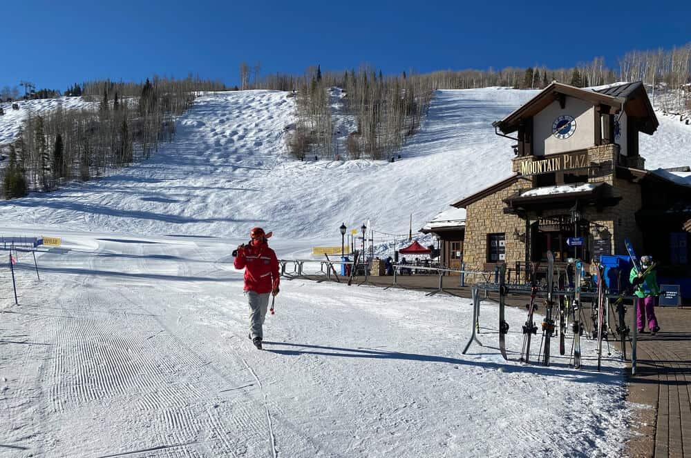 Mountain Plaza at Vail Ski Village, Colorado