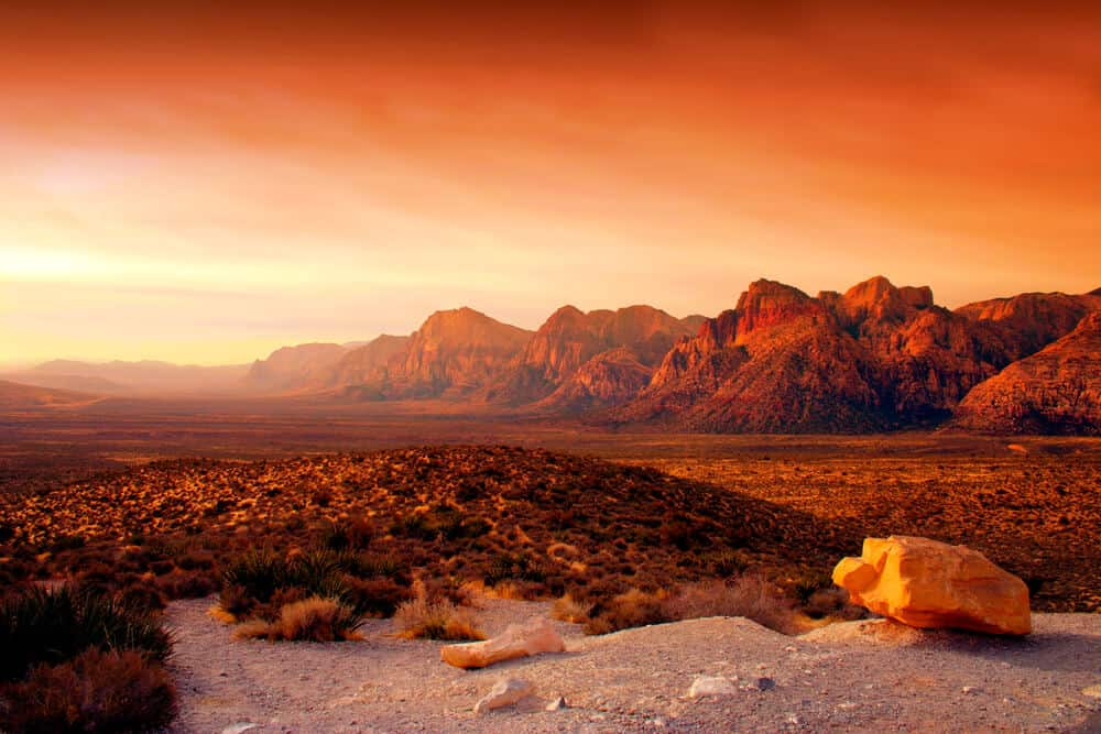 Red Rock Canyon National Conservation Area near Las Vegas, Nevada
