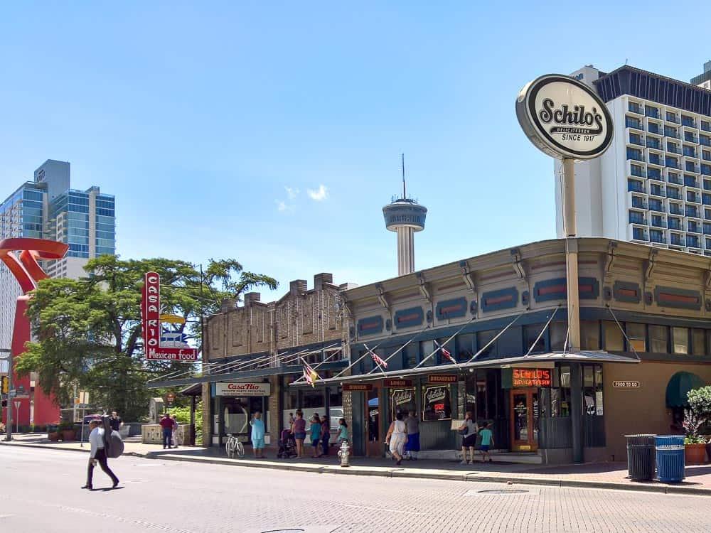 Schilo's Delicatessen in San Antonio
