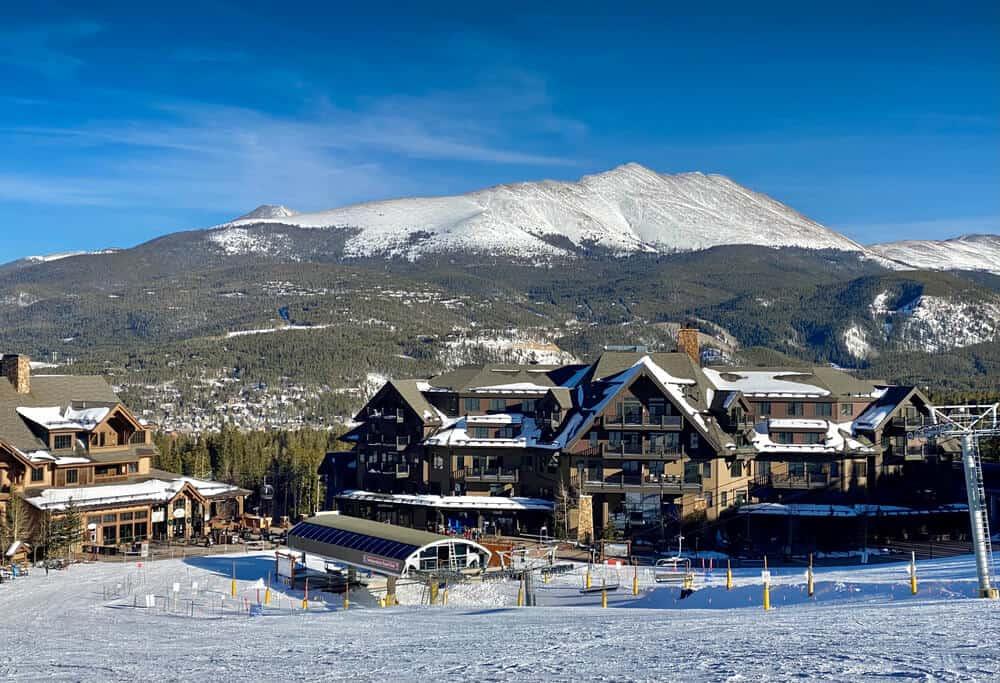 Ski Lodge at Breckenridge, Colorado