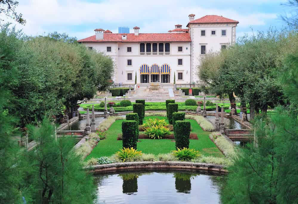 Vizcaya Mansion Museum in Miami
