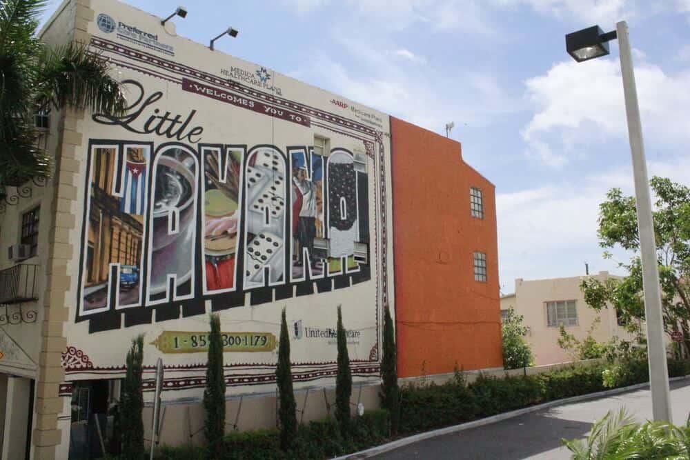 Welcome to Little Havana mural