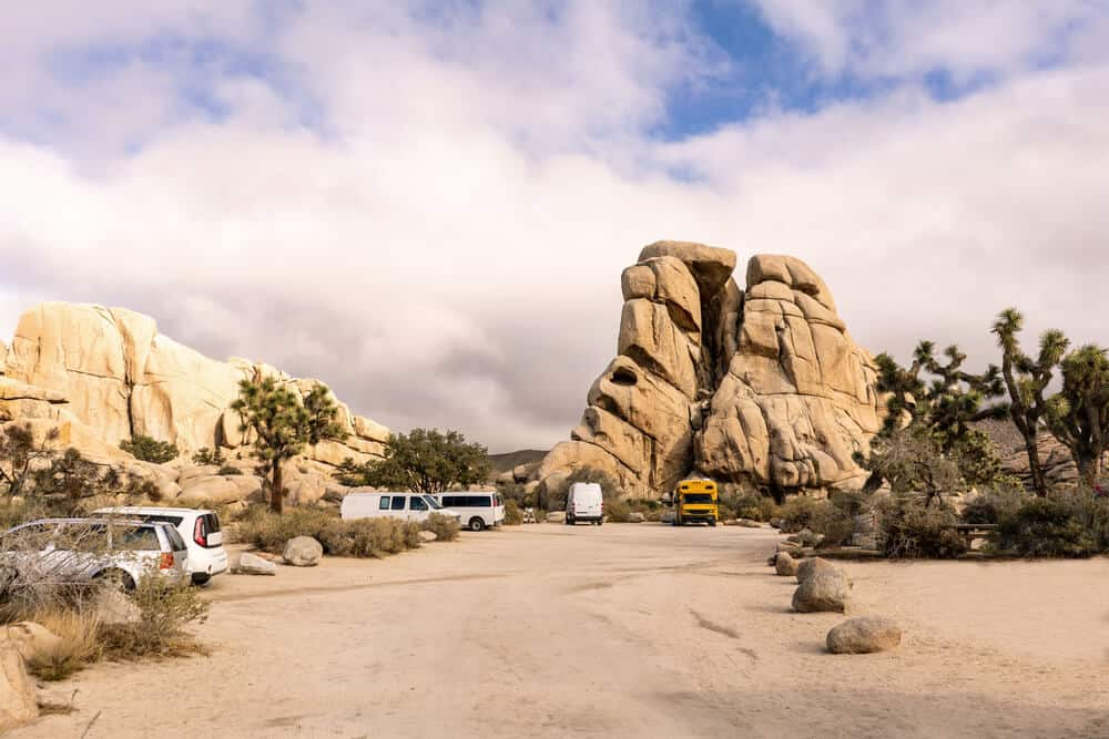 Joshua Tree National Park, California has one of the best campsites in the USA