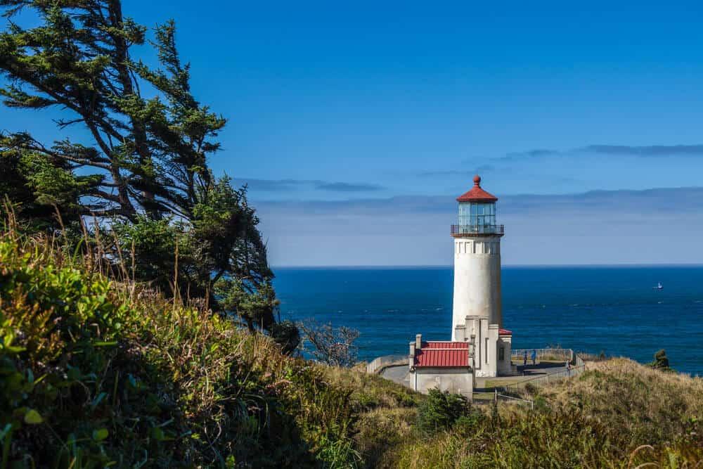 Cape Dissapointment lighthouse Washington