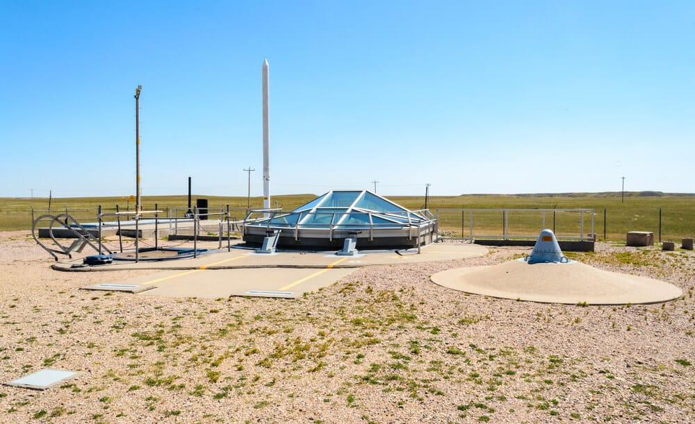 Delta-01 Launch Facility at Minuteman Missile National Historic Site, South Dakota