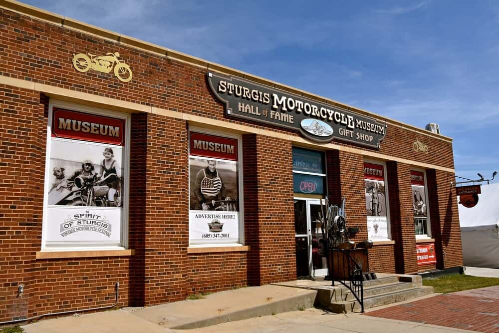 Motorcycle museum and Hall of Fame, Sturgis, South Dakota