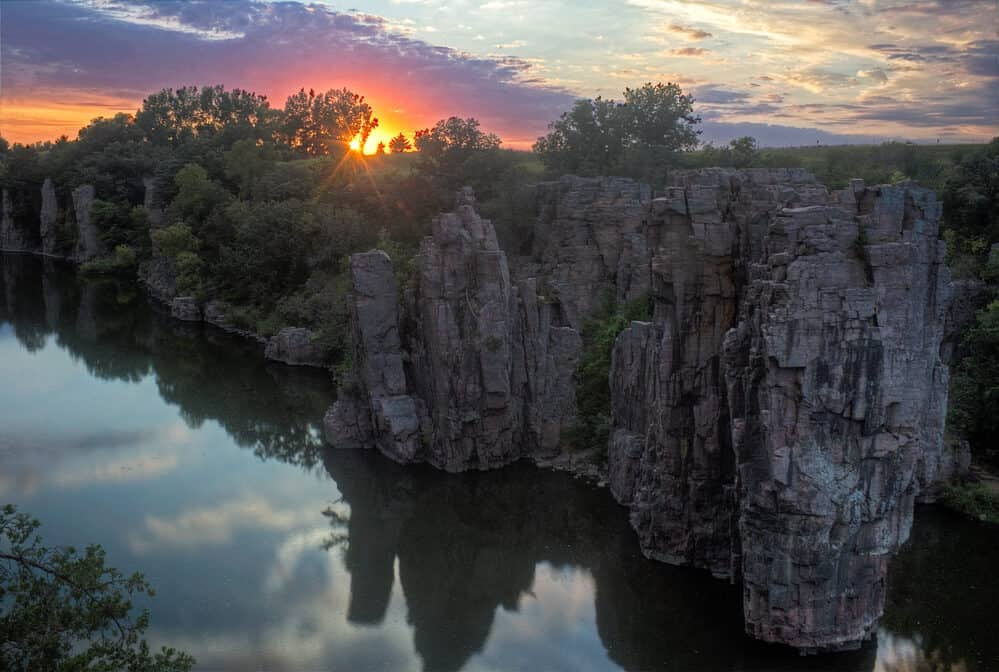 Palisades State Park near Garretson, South Dakota
