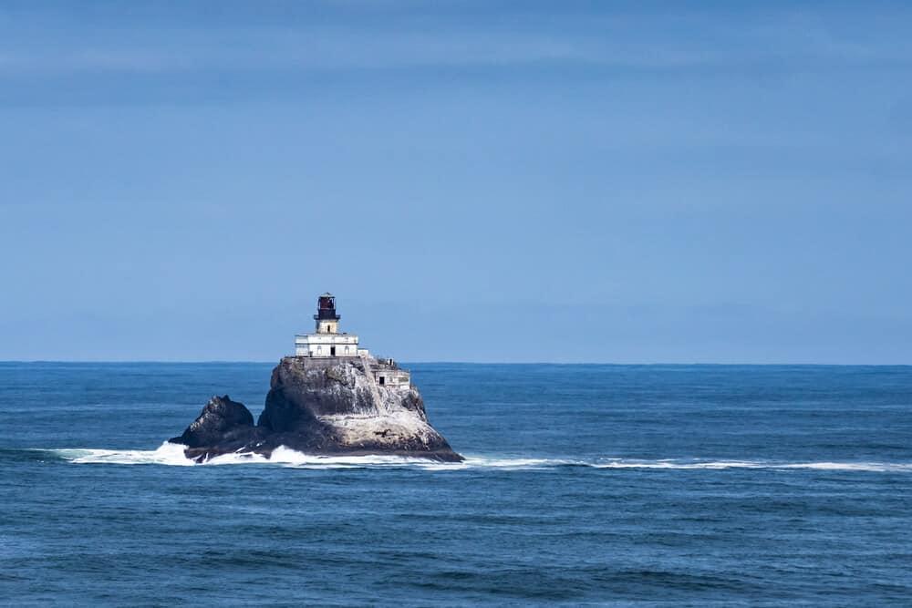 Tillamook lighthouse, Ecola Point, Cannon Beach