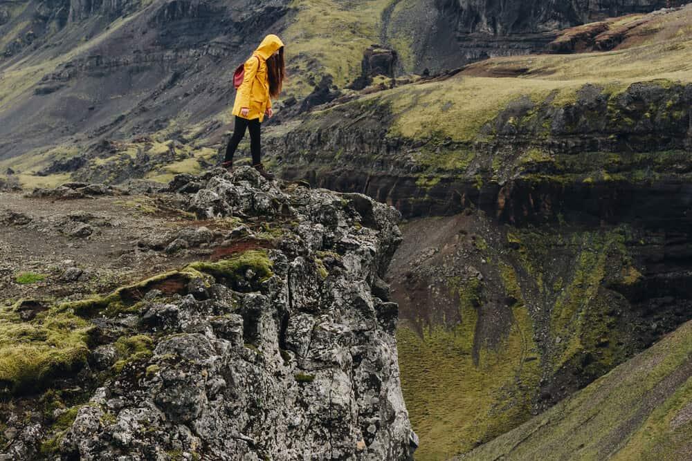 Women's Travel Jacket Yellow