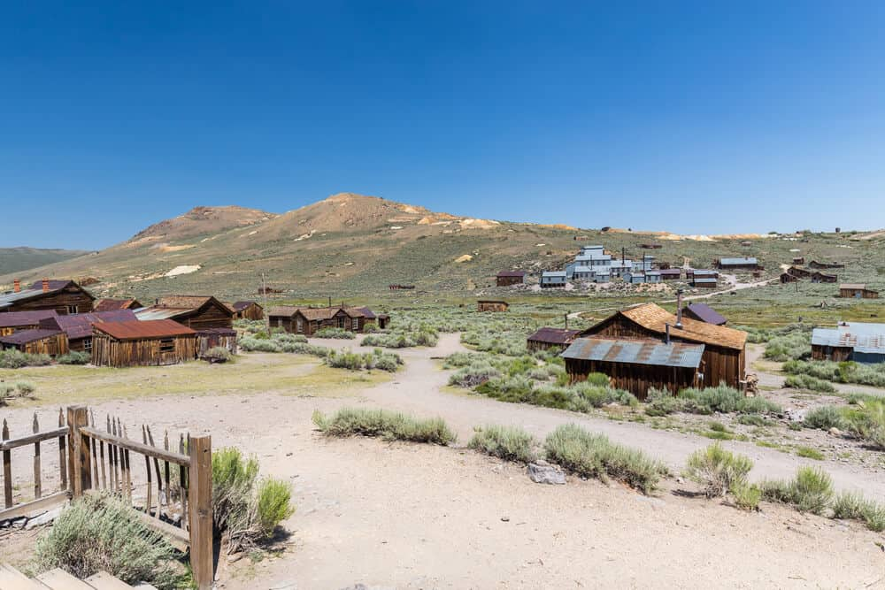 Bodie Ghost Town in California