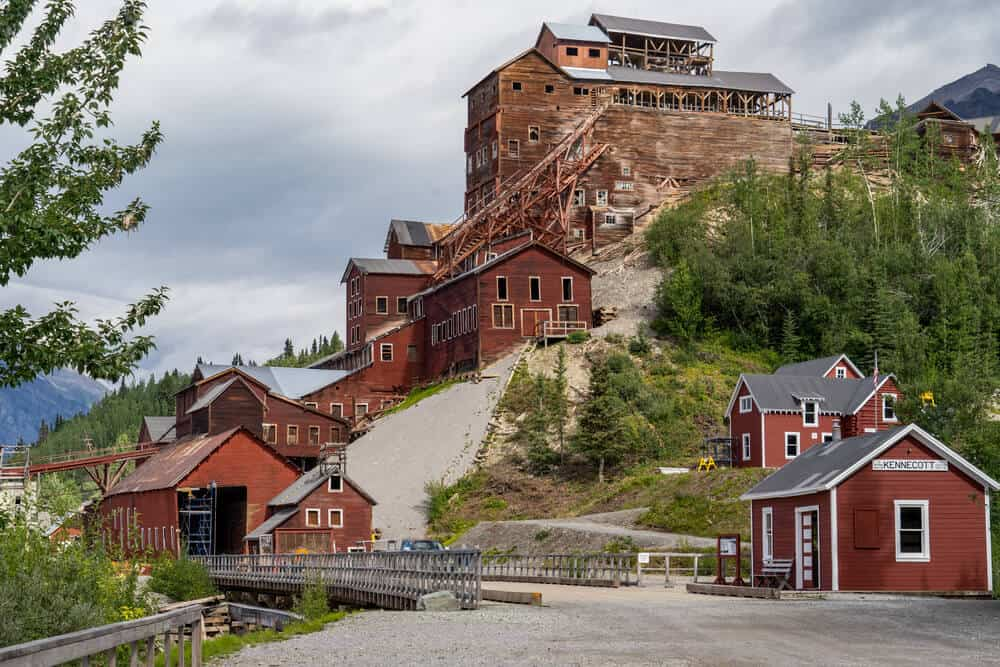 Kennicott Mine in McCarthy, Alaska