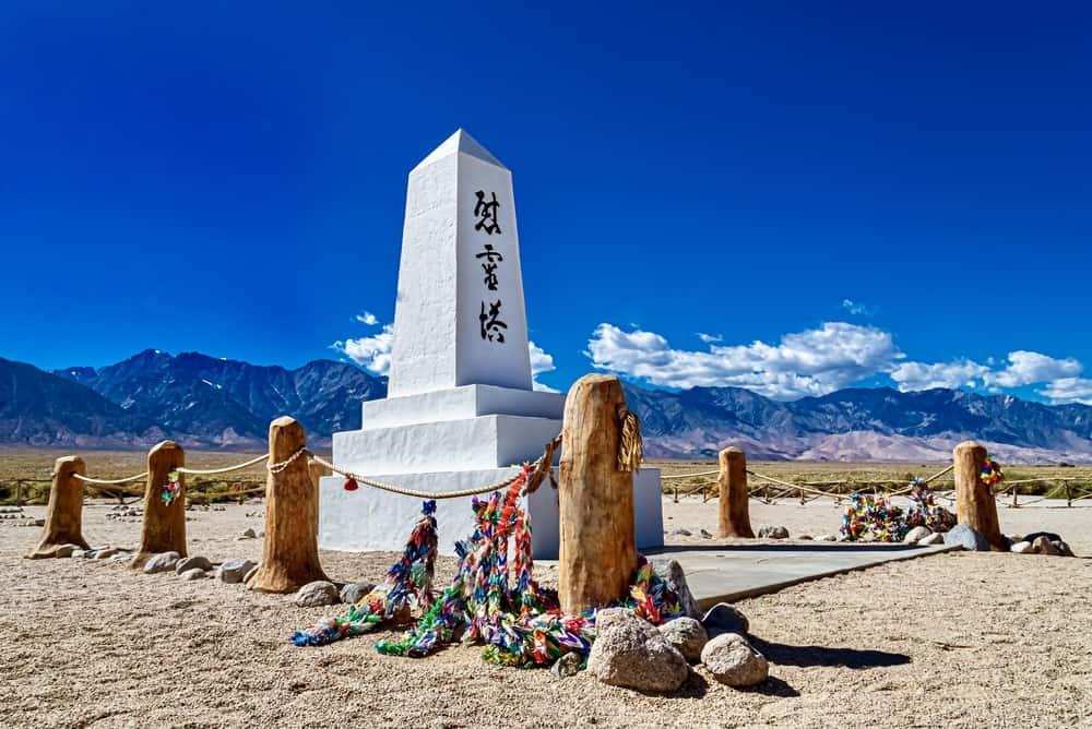 Manzanar National Park in California
